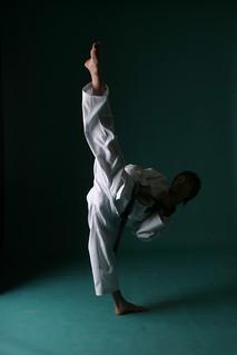 Taekwondo performance by K-Tigers