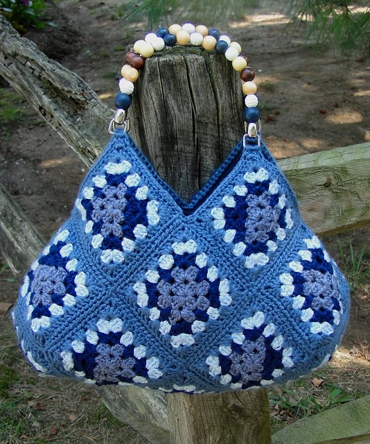 OOAK Stylish Handmade Crochet Bag Flickr - Photo Sharing!