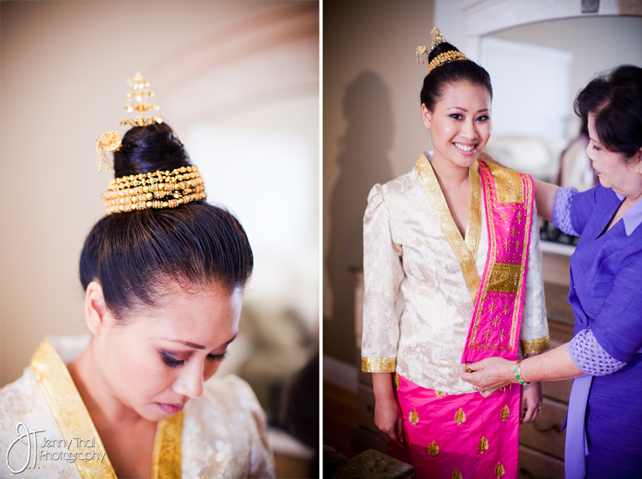 Traditional Lao Wedding Jenny Thai Photography Serving San Diego