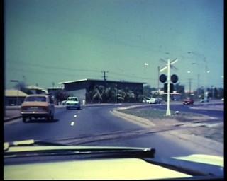 Photograph 0418 - Salonika Railway Crossing Stuart Park in August 1972