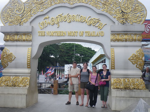 Burma-Thai border