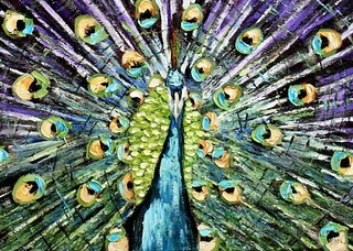 Detail, the Peacock