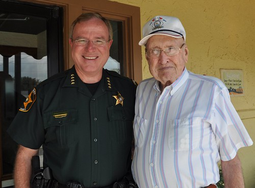 Sheriff Grady Judd and Dad