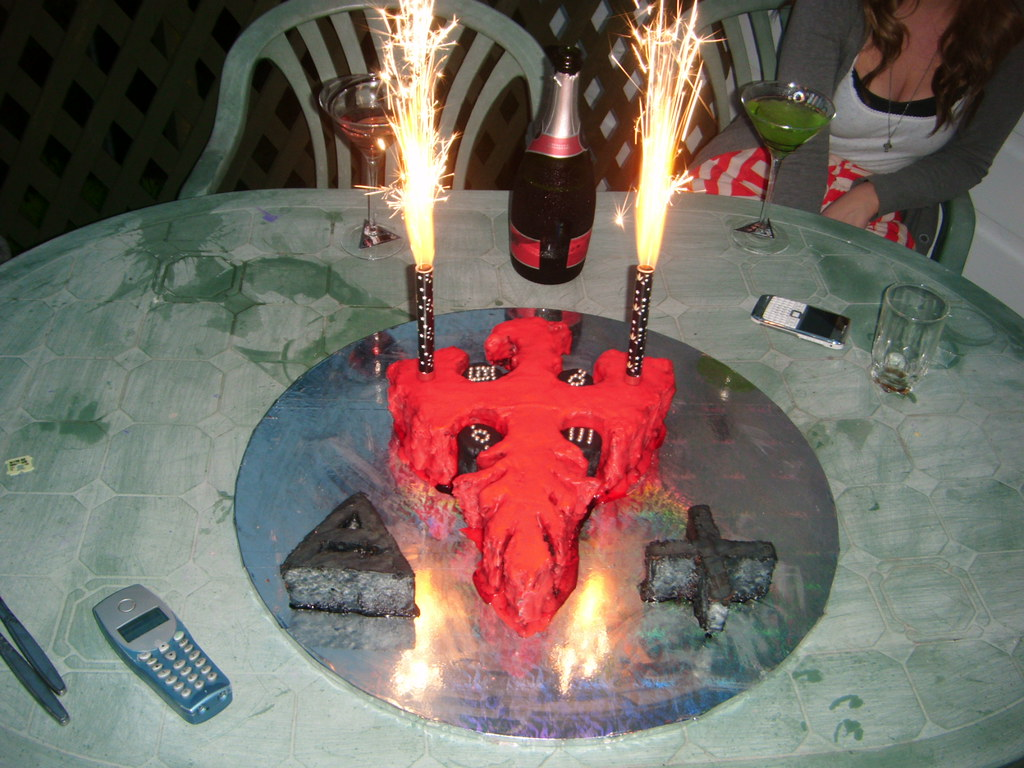 Phenomenal My Phoenix Birthday Cake Stefanieafoster Flickr Personalised Birthday Cards Paralily Jamesorg