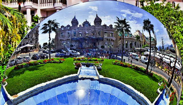 Reflection of the Casino in Monte Carlo