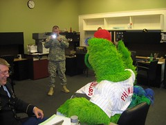 Philly Phanatic @ Selinsgrove