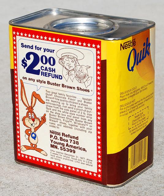 Nestle Quik, 1977