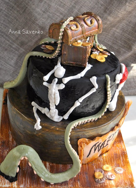 Pirates of the Carribean cake