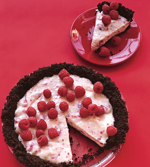ba no bake chocolate raspberry cream pie