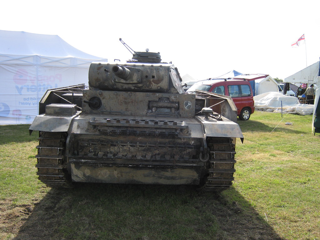 German WWII Panzer III, view 3 | You can see the German mili
