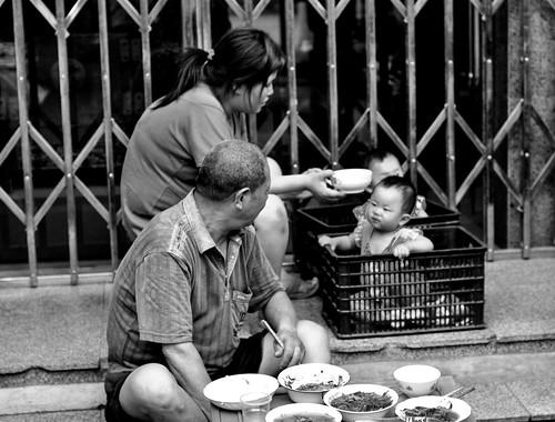 Feeding babies