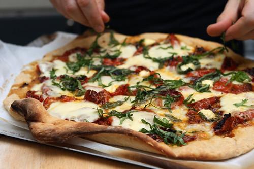 tomato basil pizza | Flickr - Photo Sharing!