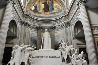La Convention nationale, de François-Léon Sicard, 1920 - The Pantheon - Paris France