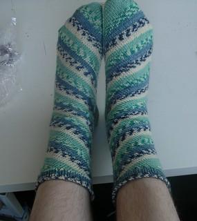 Sideways Socks