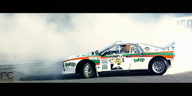 The Group B Way Of Painting The Tarmac