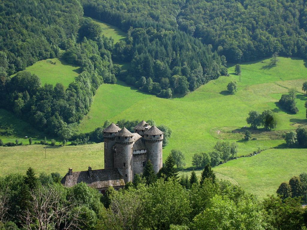 Château d'Anjony, Cantal