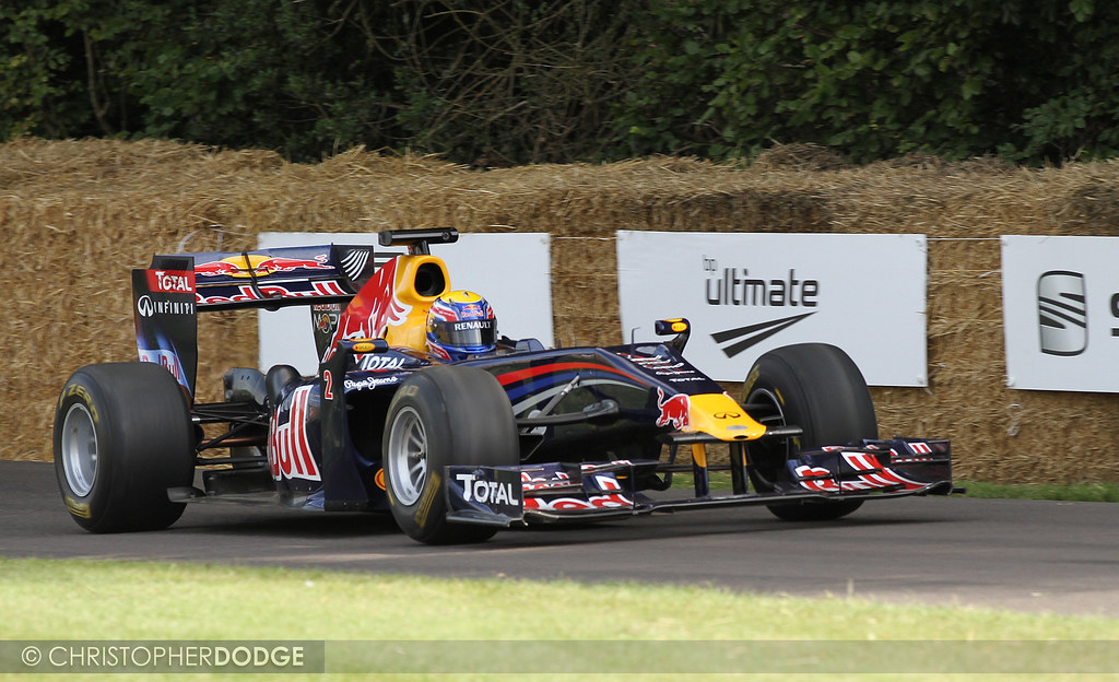 Red Bull-Cosworth RB1 - Goodwood Festival of Speed 2011