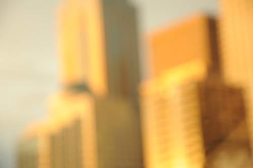 Buildings blur, Seattle, Washington, USA by Wonderlane