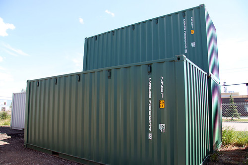 new 20' containers
