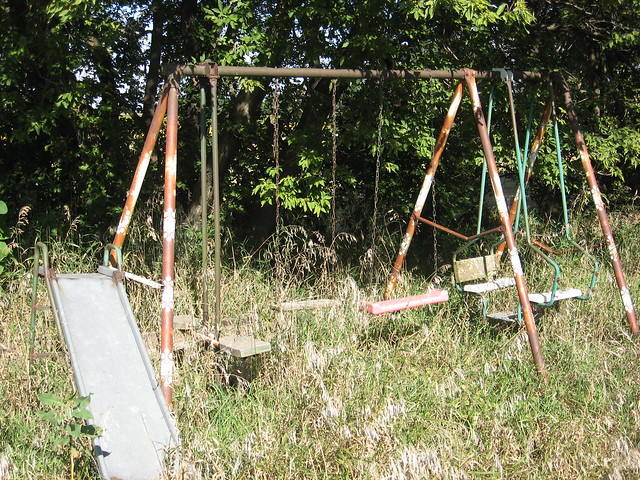An Old Swing Set Flickr Photo Sharing