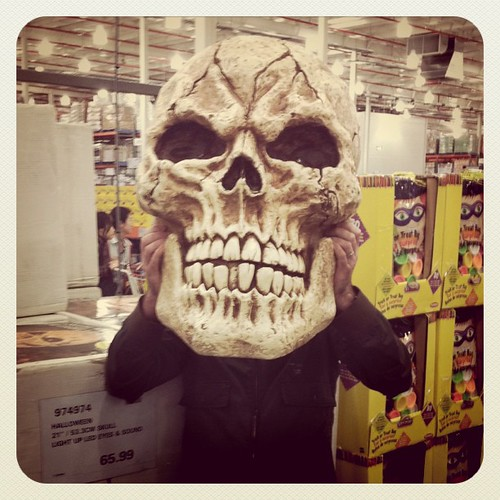 $65 giant skull at Costco!!! That's Xmas gifts sorted for me