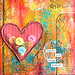 Canvas_Mixed_Media_Heart