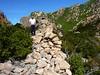 Castellu Muratu : les restes de l'enceinte