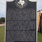 Angleton Independent School District, Angleton, Texas Historical Marker