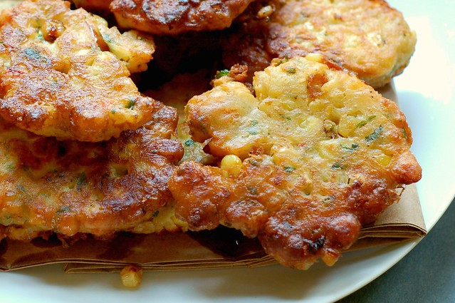 Savory Corn Fritters The Garden Of Eating