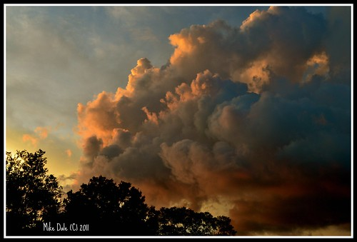 sunset red clouds florida photos mikedale