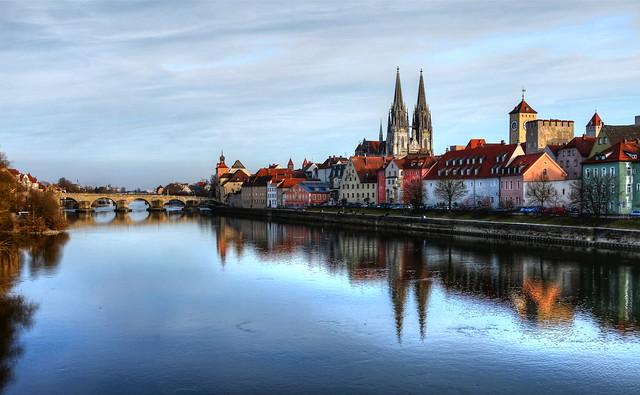 Regensburg in early Spring