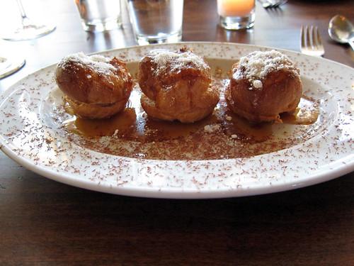 foie gras profiteroles