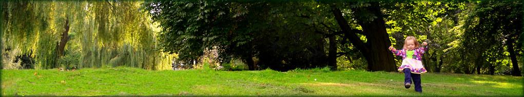 Unerschrocken landete eines tages die Pusteblumenprinzessin im Zworgenland.