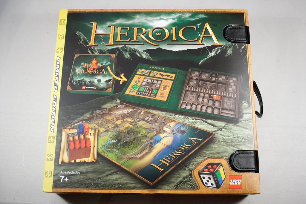 Heroica - Storage Box (Front Cover)