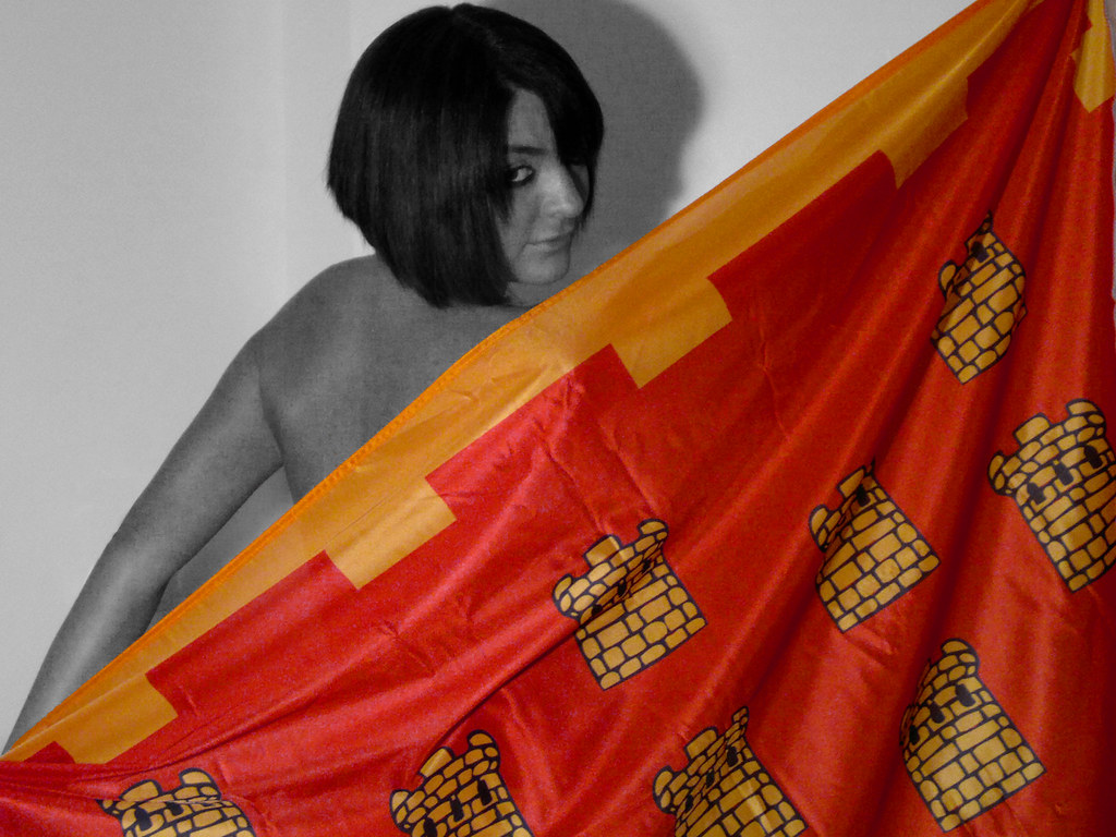 Babe with Flag of Greater Manchester