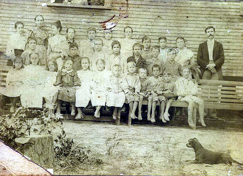Unknown studens in a Hempstead County AR School