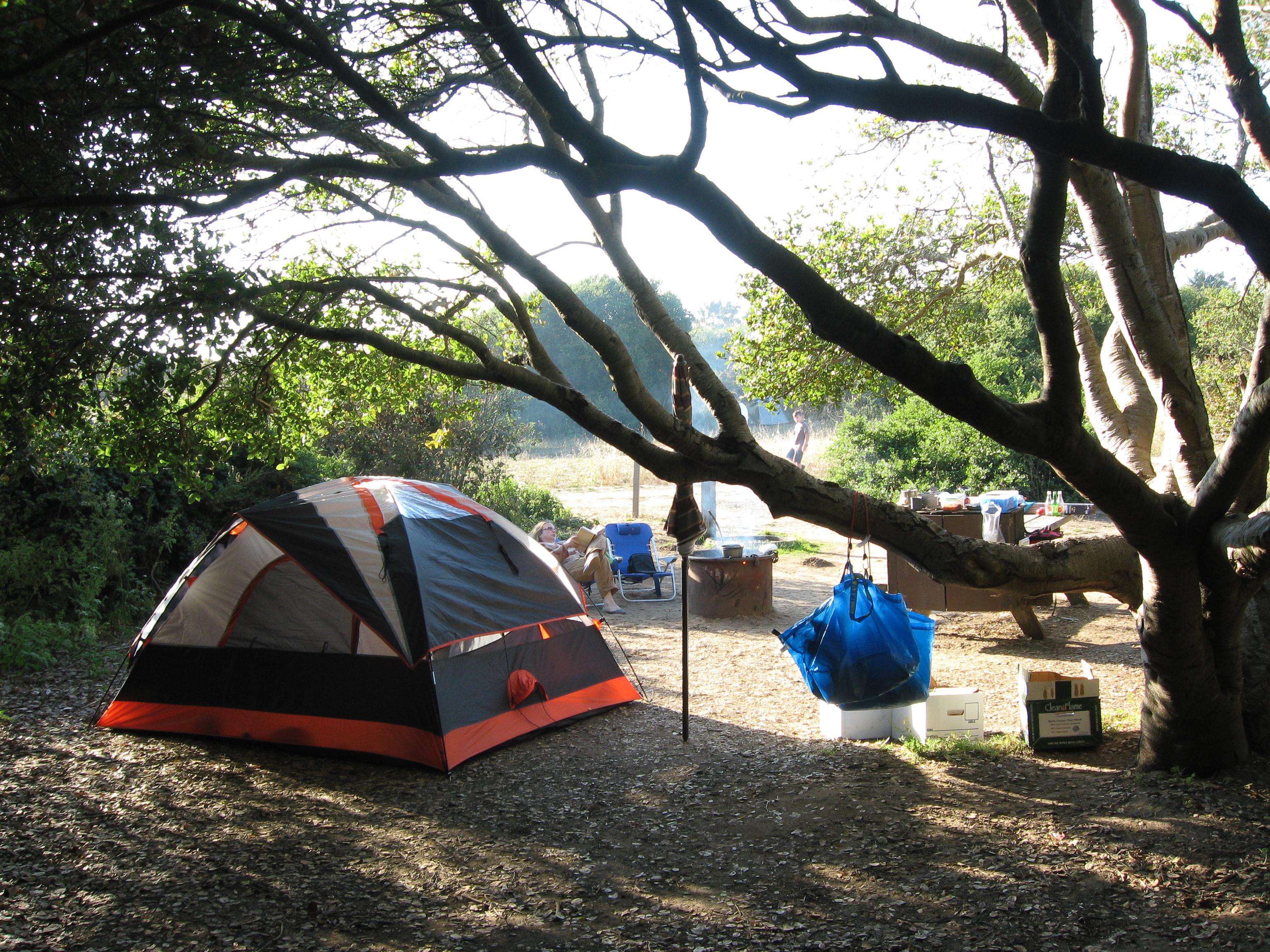 Manresa Uplands State Beach Campground
