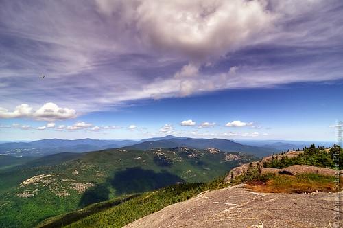 trees mountain nature clouds forest airplane landscape michael nikon view micha newyorkstate keene adirondack schaefer d300 cascademountain highpeaks ptf viewfromcascademountain
