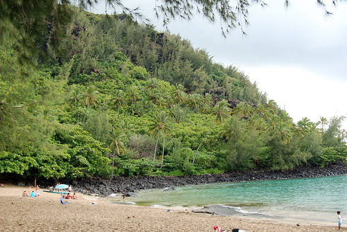On Ke'e beach