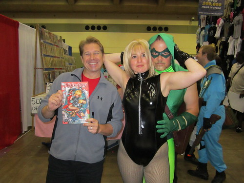 Green Arrow & Black Canary with Billy Tucci
