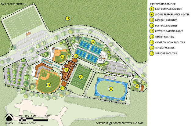 Proposed UWF East Sports Complex 2D Plan Labeled Flickr Photo Sharing