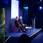 Alan Hollinghurst with Steven Gale |