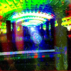 Waiting in the Metro Station, Lights and Colors #1