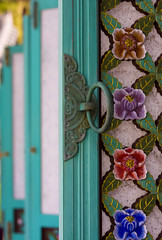 Door Detail in Busan, South Korea