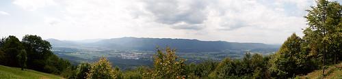 panorama valley slovenija slowenien dolina tal svana ribnica malagora