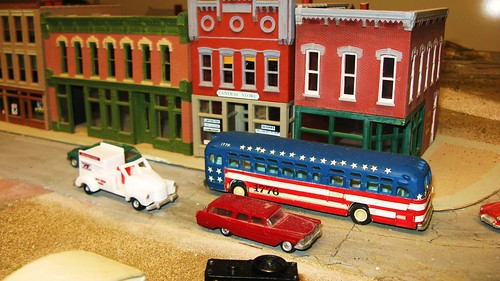 The Oak Park Society of Model Engineers, H.O Scale Model Railroad Club.  Oak Park Illinois USA. August 2011. by Eddie from Chicago