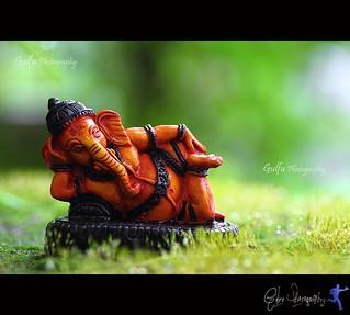 Resting Ganesha