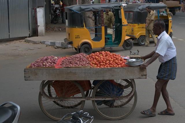 Coimbatore India street life