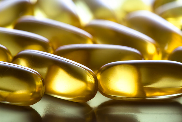 Fish oil capsules (tran, trankapsler)