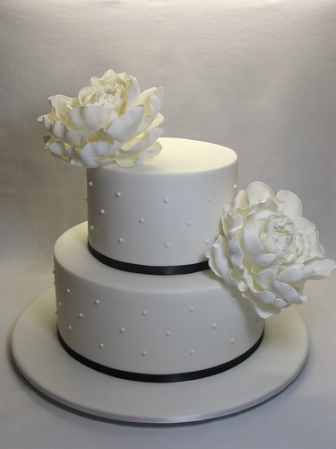2 Tier Peony Wedding Cake 2 Tier Peony Wedding Cake The